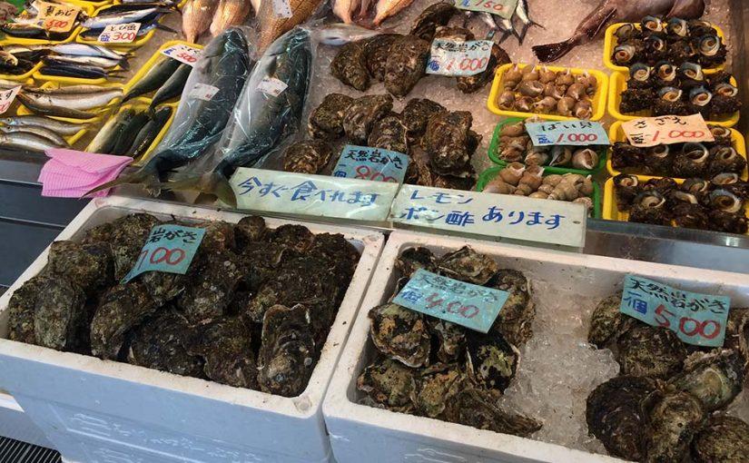 氷見の旬を味わう【岩牡蠣】
