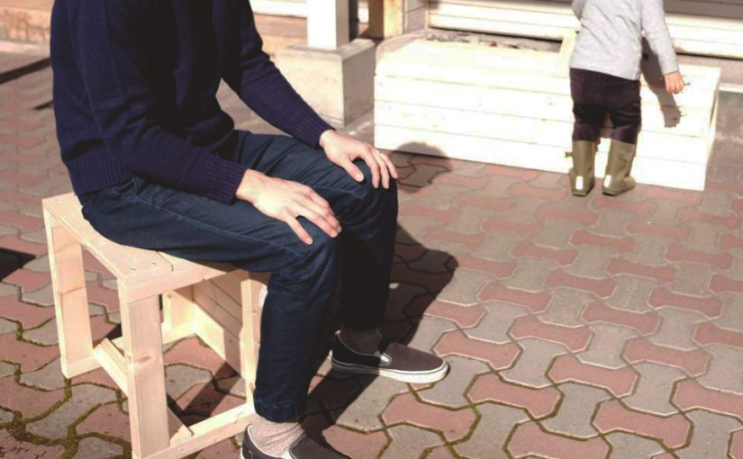 楽しい商店街をつくる第一歩!木製ベンチ・モバイル屋台づくりワークショップ