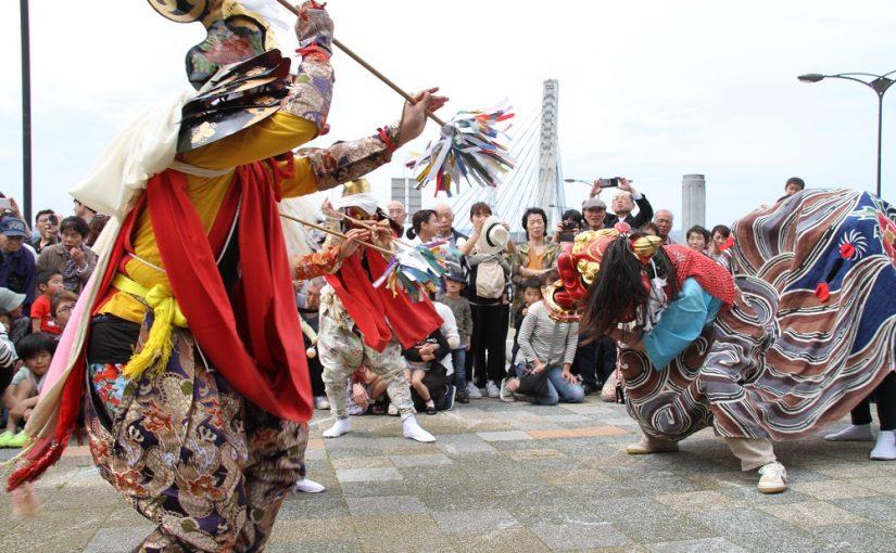 漁業繁栄と海上安全を祈願する「唐島祭り」