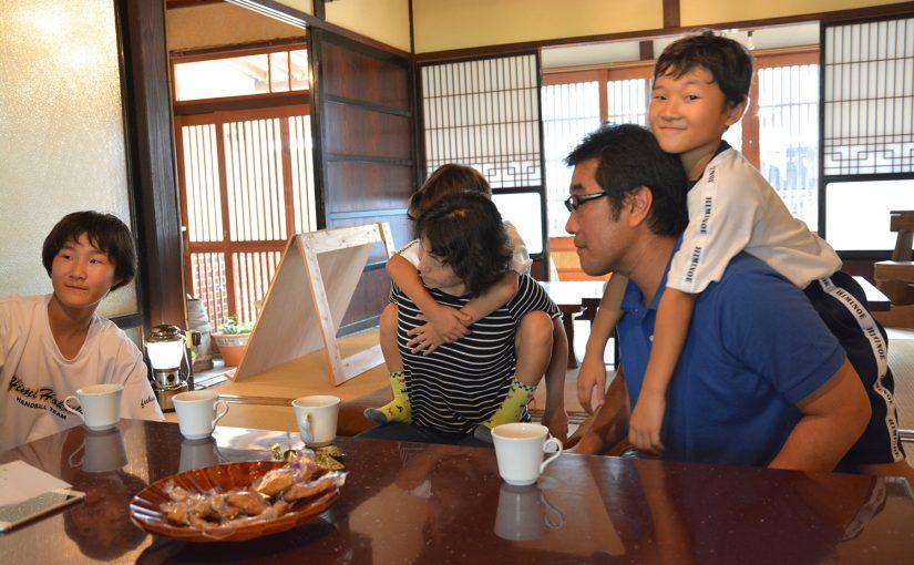 【ひみ暮らしインタビューvol.1】埼玉から移住した加藤さんご一家
