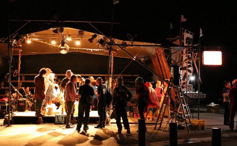 氷見ではじめる手作りの演劇ホール「氷見結テント」を紹介します