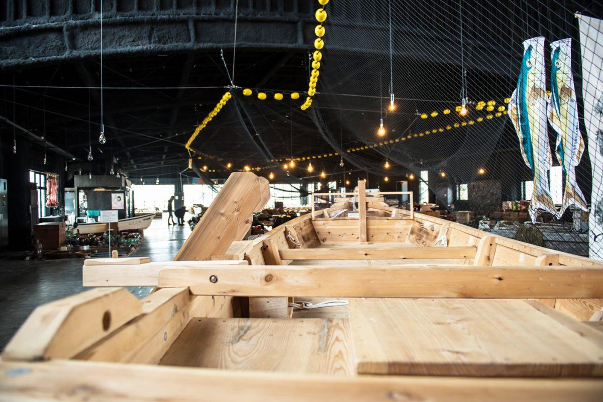 「ドブネ」「テント」「テンマ」、氷見の木造和船の話