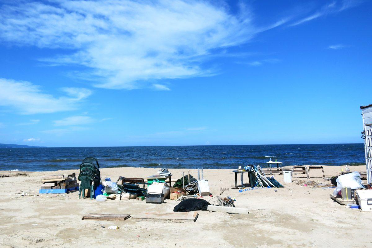 海辺のお散歩《島尾海浜公園》
