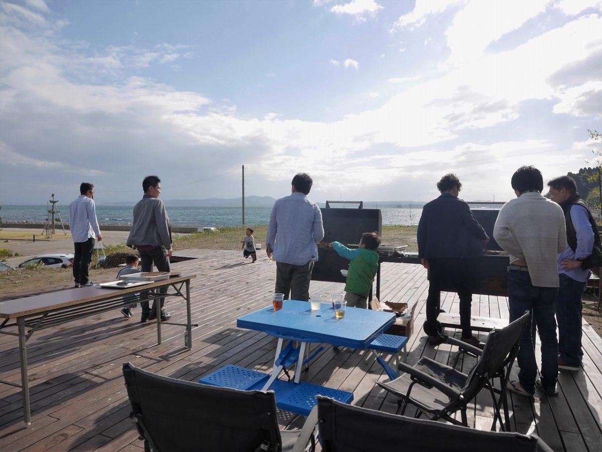 海辺でBBQ! 第2回移住者交流会レポート