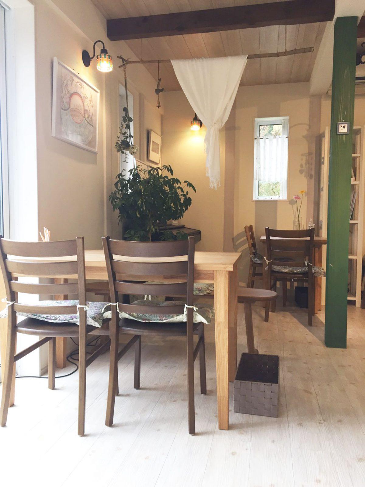 山の中の癒し空間「Cafe 芽衣」
