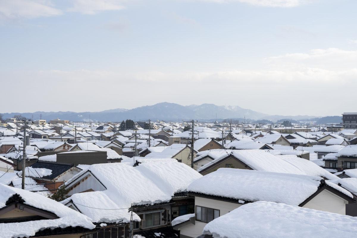 氷見暮らし1年生、雪かき初体験!